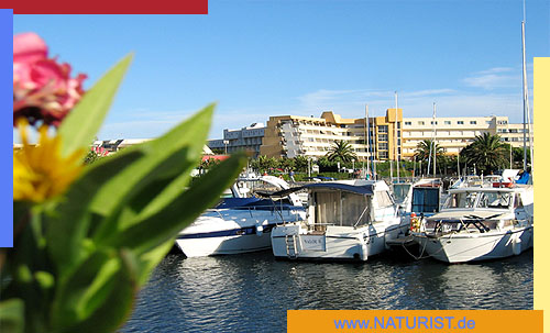 Cap d'Agde Location hebergements Port Nature